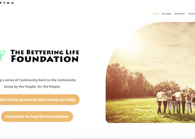The Bettering Life Foundation