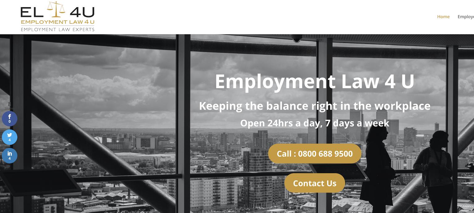 Employment Law 4U Screenshot
